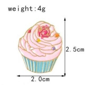 5/$24 Alice Wonderland Hatter Tea Party Cupcake